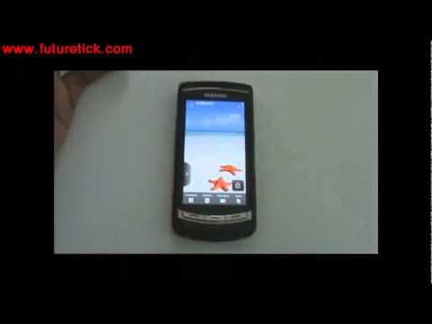 Samsung Omnia i8910 latest firmware review.mp4