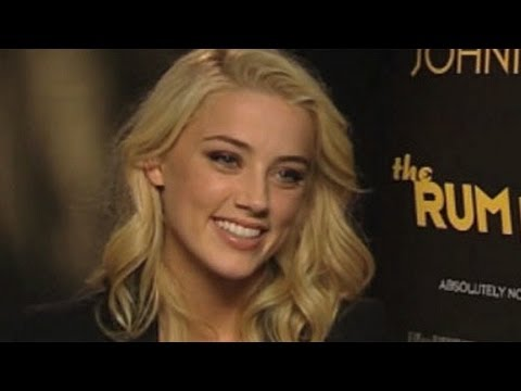 Amber Heard 'The Rum Diary' interview: Johnny Depp is a true artist