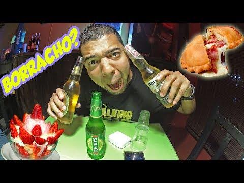 Probando Comida, Postres y Bebidas en Colombia.