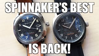 Spinnaker Hull California & Limited Edition Tactical (SP-5071) Plus BONUS Straps! - Perth WAtch #242