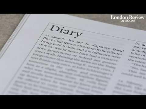 AUDIO: Alan Bennett's diary for 2016