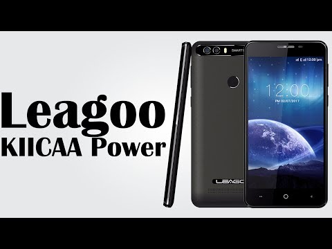 Leagoo KIICAA Power - 5.0 Inch / Android 7.0 /  2GB RAM + 16GB ROM / 4000mAh