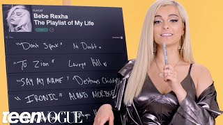 Download Lagu Bebe Rexha Creates the Playlist to Her Life | Teen Vogue Gratis STAFABAND