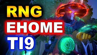 EHOME vs RNG - TI9 CHINA SEMI FINAL - The International 2019 DOTA 2