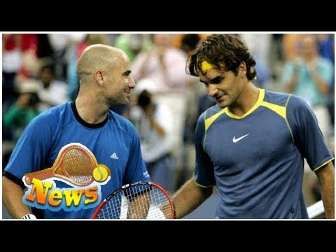 Andre agassi speaks of youngsters ending federer and nadal's dominance