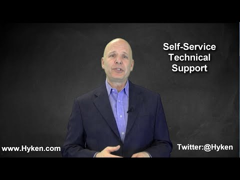 Customer Service Tip: Self Service Technical Support