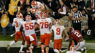 Clemson Game Winning Drive vs Alabama | 2016 National Championship | NCAA Football Highlights HD