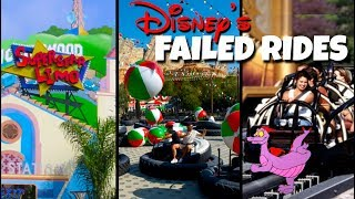 Top 5 Failed Disney Rides & Attractions | Disney World and Disneyland