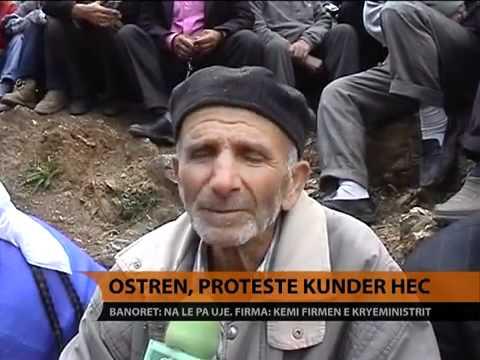 Ostren, protestë kundër HEC