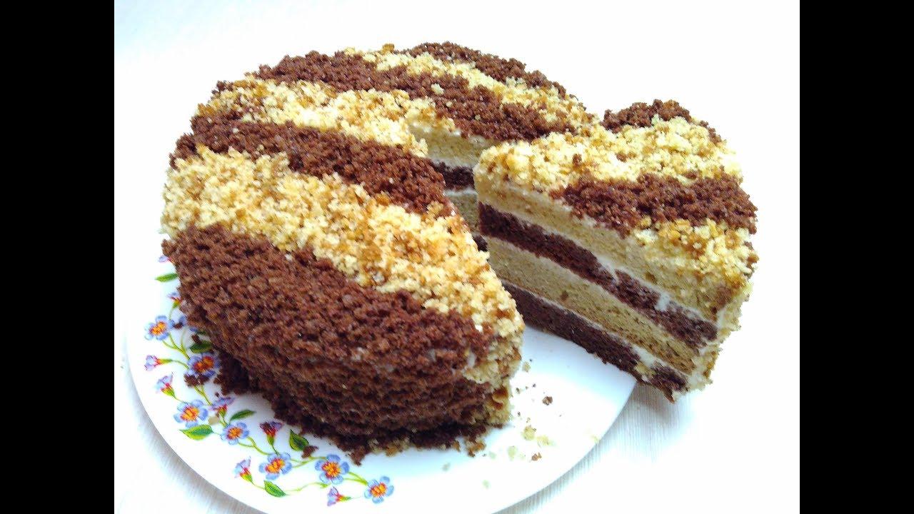 Рецепт простого торта в домашних условиях сметанник 388