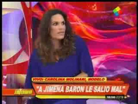 Carolina Molinari mató a Jimena Barón: Se hizo la superada y le salió mal
