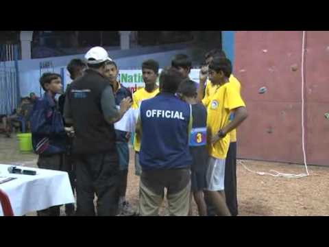 National Sport Climbing competition  2015 India