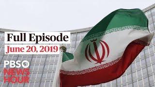 PBS NewsHour live show June 20, 2019