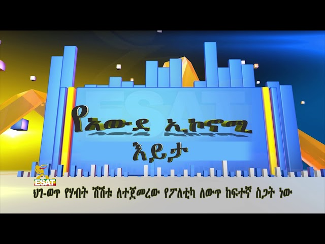 ESAT Awde Economy- About Illegal Flow Of Money  Dec 2018