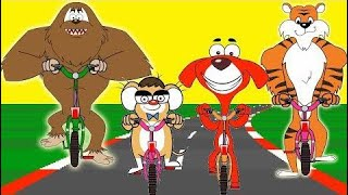 Rat-A-Tat |'animals Motorbikes Race + More Videos For Children'| Chotoonz Kids Funny Carto |HD 2018