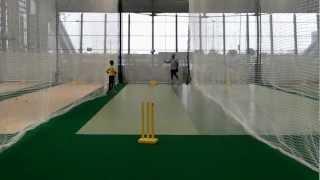 Ebrahim Alam Dodi...Chinaman on hat-trick, Brad Hogg Style !