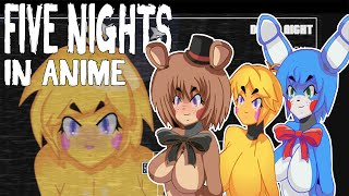 DEATH BY BOOBIES - Five Nights In Anime - Five Nights At Freddy's - FNAF