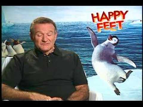Happy Feet is listed (or ranked) 22 on the list The Best Ever Robin Williams Movies