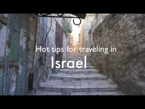 Hot Tips For Traveling In Israel