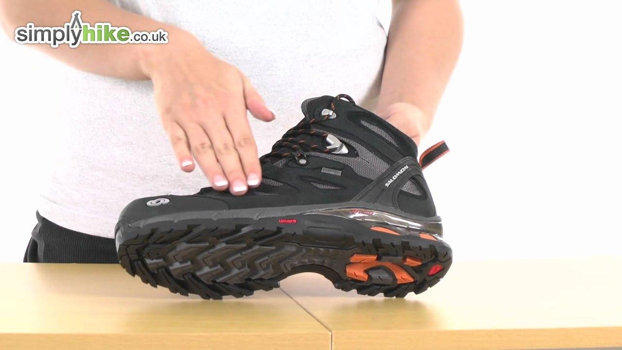 Salomon Mens Comet 3D GTX Walking Boot Wwwsimpyhikecouk YouTube