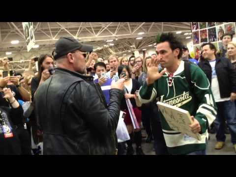 JDF Wizard World Celebrity Board Break with Michael Rooker