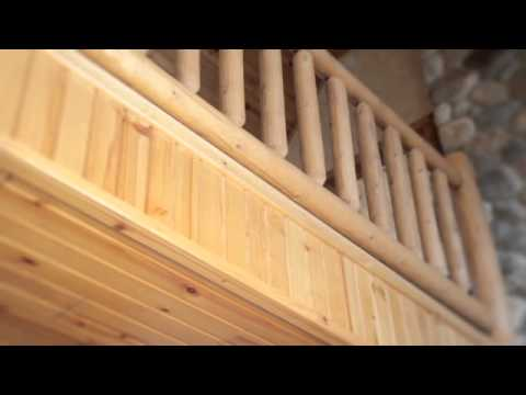 Knotty Pine Tongue And Groove Car Siding For Log Homes And