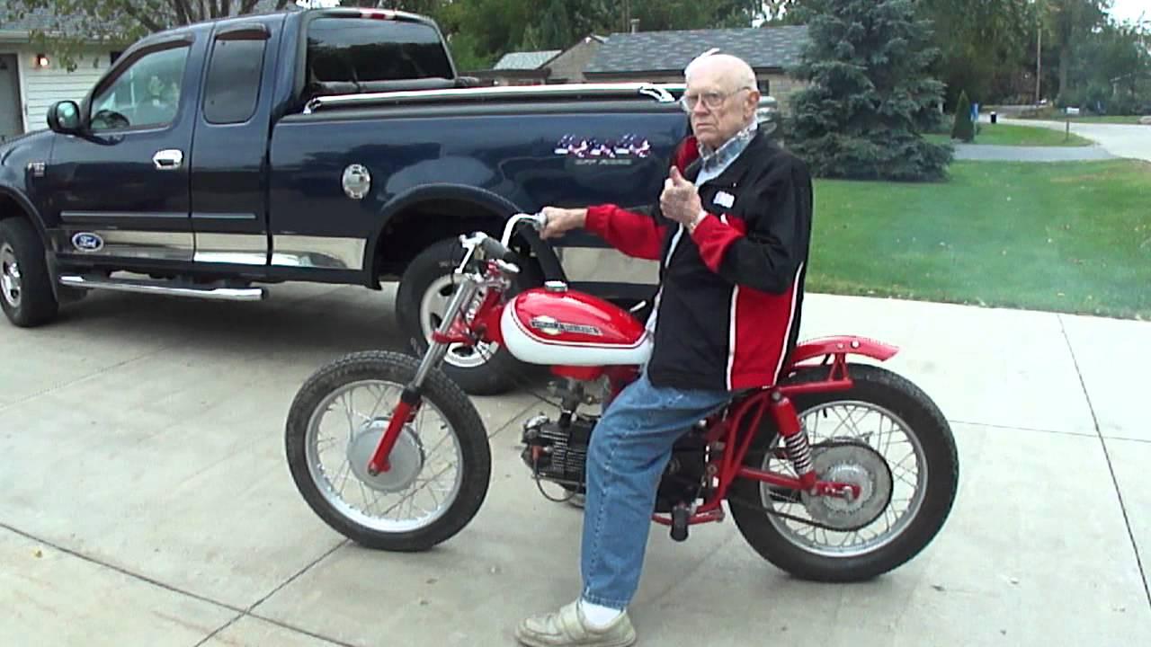 Harley Flat Track >> Harley Davidson 1965 Sprint 250cc test run - YouTube