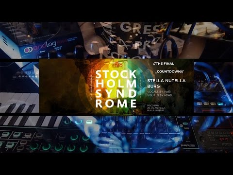 BURG feat. I-Wei - Live @ Stockholm Syndrome 20141108 Pisco Bar KL // ADHD on Visuals