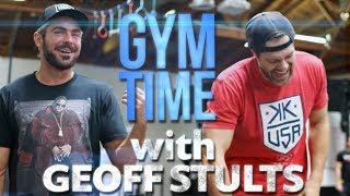 My Chest and Back Day Workout With Actor Geoff Stults | Gym Time w/ Zac Efron
