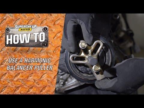 Removing a Harmonic Balancer