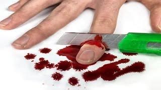 Corte de dedo - Truque Mágico que você pode fazer