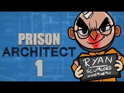 Prison Architect - Northernlion Plays - Episode 1 [Blueprint]
