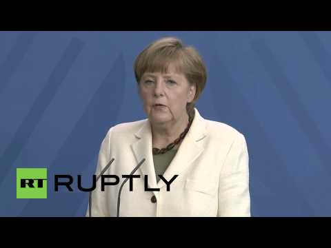 Germany: Russia unwilling to peacefully guide Ukraine separatists - Merkel