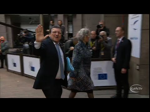 "Barroso says ""adeus"" after 10 years"