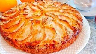 Яблочный Пирог ВОСТОРГ! Тает во Рту!!! Простой и быстрый Пирог шарлотка с яблоками Пальчики оближешь