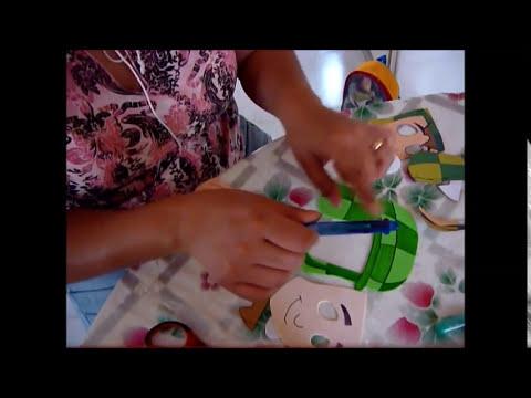 Como sacar moldes para hacer figuras de fomi o fieltro