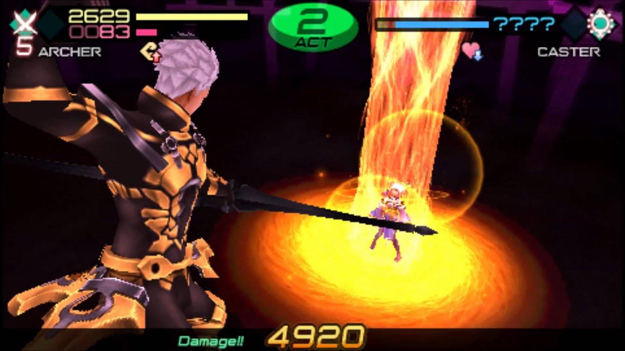 Fate Extra Ccc Archer vs