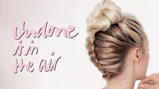 Braided Topknot - Undone is in the air