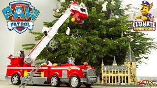 Pat Patrouille Camion de Pompier Ultimate Rescue Géant de Marcus Jouet Noel 2018 Toy Review