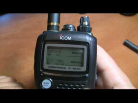 Icom IC-92 D-star DV Review OPC-1799 home made
