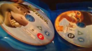 Unboxing shrek  4 movie collection blu Ray