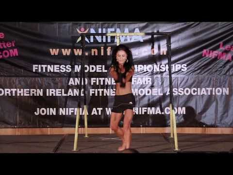 Natasha Callaghan - NIFMA Mr & Miss Fitness Model Europe 2013