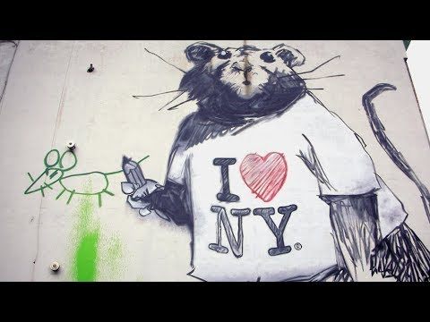 Banksy In New York-- Is He A Threat To Power?