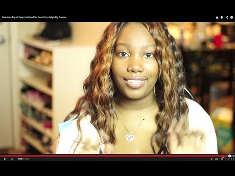 Freetress Equal Deep Invisible Part Lace Front Wig Milly Review