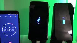 Charging Speed Test LG V30 VS OnePlus 5