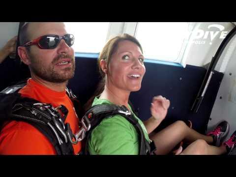 Margo Springer's Tandem skydive!