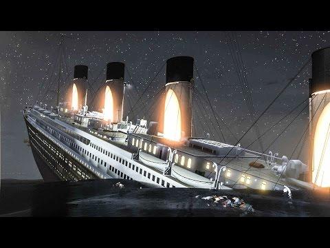 TITANIC SINKS IN GTA 5! AMAZING TITANIC MOD HD 60FPS
