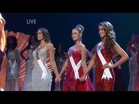 Miss Universe 2015 - Paulina Vega miss Colombia wins winner gana Miss ...