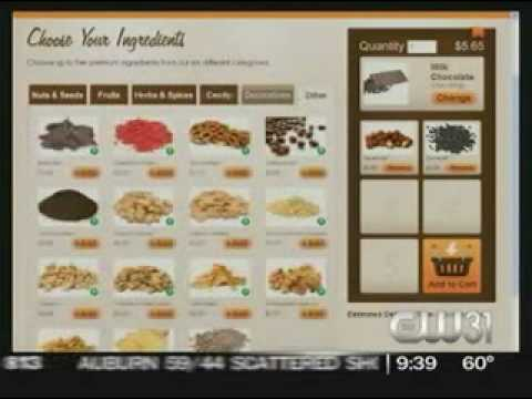 Chocomize Custom Chocolate Bars on Good Day Sacramento