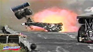★Crash Compilation #2 【Drag Racing, 80's & 90's Crash】